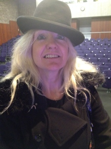 Nicky Clayton with homburg