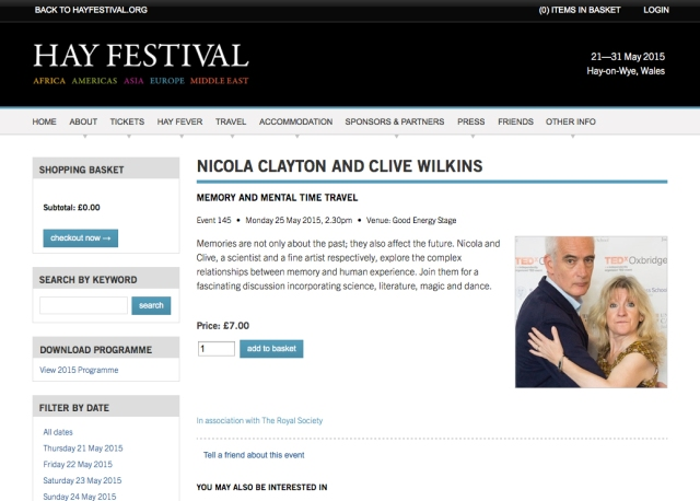 Clive Wilkins Nicky Clayton 1