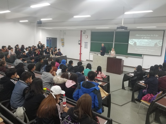 Nicky Clayton Clive Wilkins Beijing University.jpg